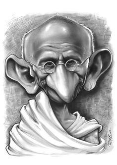 Caricatura à lápis ,finalizada com carvão em pó chinês . Cartoon Drawings, Cartoon Art, Drawing Sketches, Pencil Drawings, Art Drawings, Funny Caricatures, Celebrity Caricatures, Film Icon, Black And White Cartoon