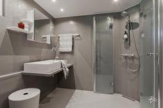 Mikrosementtiä kylpyhuoneessa - Etuovi.com Sisustus