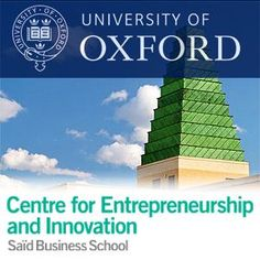 LISTEN | Building a Business: Entrepreneurship and the Ideal Business Plan | University of Oxford Centre for Entrepreneurship & Innovation: Saïd Business School