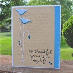 Inspired by Nancy! by bdengler4 (Barb), via Flickr  prim poppy..the blue really pops!