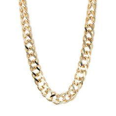 Close Out Deal Yellow Gold Overlay Sterling Silver Double Curb Necklace (Size Silver wt Gms. Layering Necklaces, Necklace Sizes, Mixed Metals, Overlays, Bling, Chain, Gemstones, Sterling Silver, Diamond