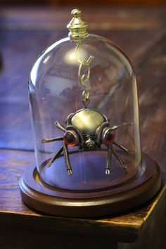 Hey, I found this really awesome Etsy listing at https://www.etsy.com/listing/173724688/steampunk-spider-christmas-ornament-with