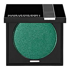 MAKE UP FOR EVER Eyeshadow in Iridescent Lagoon Green 168 #sephora