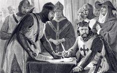 REGELE ENGLEZ SI BARONII. Regele Ioan al Angliei se afla intr-o situatie critica in 1215. Era urat de nobilime din cauza domniei sale arbitrare si a impozitelor grele, dispretuit din cauza cruzimii si vietii depravate. Londra a cazut in mana baronilor rebeli la 17 mai si, la 15 iunie, acestea s-au intalnit cu regele la …