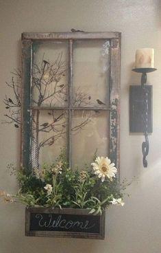 50 Amazing Vintage Farmhouse Decor_32 #HomemadeHomeDécor,