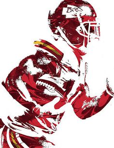 Tyreek Hill KANSAS CITY CHIEFS PIXEL ART 1 Art Print by Joe Hamilton. All prints are professionally printed, packaged, and shipped within 3 - 4 business days. Kansas City Chiefs Football, Football Art, Pittsburgh Steelers, Dallas Cowboys, Indianapolis Colts, Cincinnati Reds, Football Players, Chiefs Wallpaper, Football Wallpaper