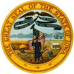 Iowa state Seal - Google Search