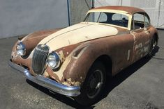 Stored Since The 1970's: 1959 Jaguar XK150 Coupe - http://barnfinds.com/stored-since-the-1970s-1959-jaguar-xk150-coupe/