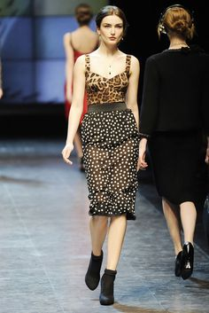 Dolce & Gabbana | Fall 2010 Ready-to-Wear Collection | Style.com