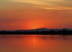 Kariba Sunset Zimbabwe