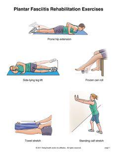 Plantar Fasciitis Exercises.