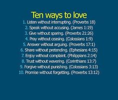 10 ways to love wise words belles phrases gods love gods will