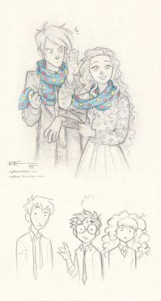 Draco and Luna by CaptBexx on DeviantArt