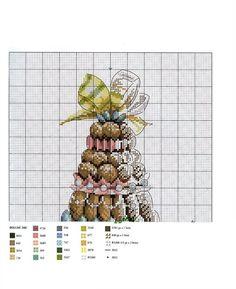 ru / Photo # 11 - Help yourself! Cross Stitch Kitchen, Just Cross Stitch, Cross Stitch Charts, Cross Stitch Designs, Cross Stitch Patterns, Cross Stitching, Cross Stitch Embroidery, Embroidery Patterns, Cross Stitch Geometric