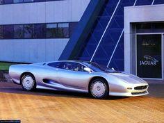 1991 Jaguar XJ-220 #cars #coches #carros