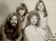 The Move in 1970: Roy Wood, Bev Bevan, Jeff Lynne, and Rick Price