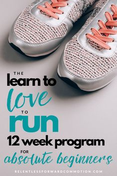 The Learn to Love to Run Program for beginners will help you safely and gradually get comfortable with a regular running routine over 12 weeks. Running Routine, Running On Treadmill, Running Workouts, Running Tips, Trail Running, Treadmill Workout Beginner, Fitness Workouts, Fitness Tips, Diet