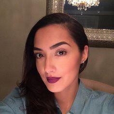. makeup by makyaj .  Channeling my inner #lorde ; makeup inspired by Mac senior artist @amberdmakeup makeup chart. Lipstick is #Mac #heroine and #nightmoth lip liner.  #makyajartistry #makeup #mua #toronto