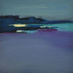 "Daily Paintworks - ""Landscape 160"" - Original Fine Art for Sale - © Ewa Kunicka"