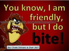 Quotes sarcastic childhood 30 ideas for 2019 Looney Tunes Characters, Looney Tunes Cartoons, Funny Cartoons, Funny Jokes, Hilarious, Disney Characters, Tasmanian Devil Cartoon, Cartoon Quotes, Favorite Cartoon Character