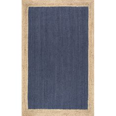 Features:Eleonora collectionMaterial: 100% JuteConstruction: Hand wovenProduct Type: Area Rug...