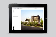 Logo and responsive website design by Studio Hi Ho for Melbourne-based architecture and interior design firm K2LD