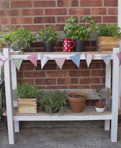 Dream Box Home; Homemade Herb garden