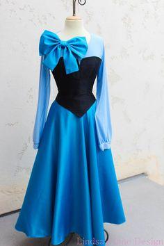 Ariel zeemeermin 'Kiss the Girl' stad jurk door LindsayJaneDesign