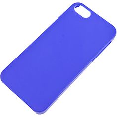 Slim Back Cover for Apple #iPhone 5, Blue $9.99 From #DayDeal