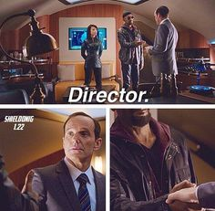 Agents of SHIELD | Director Coulson and Fury and May #quotes