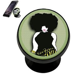 Sexy Afro Big Hair Woman Magnetic Phone Car Mount Holder Noctilucent Mobile Cradle Stand Universal 360 ° Rotating Car Dashboard Support Cell Phone Kit Gadget -- You can find more details by visiting the image link. (This is an affiliate link) Car Mount Holder, Big Hair, Car Accessories, Afro, Magnets, Image Link, Kit, Woman, Phone