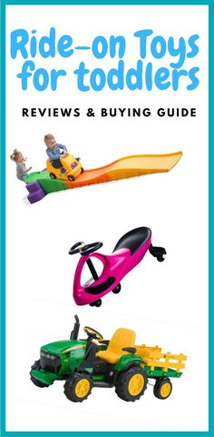 Every toddler loves ride on toys, but there are so many to choose from.  Here are our reviews and buying guide to help you choose the best one. #supermompicks #momlife #rideontoys #toddlers #preschool #rideoncars