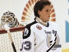 Manon Rhéaume -   An Olympic silver medalist, she achieved a number of historic firsts during her career, including becoming the first and only woman ever to play in an NHL exhibition game.  In '92 Rhéaume signed with the Tampa Bay Lightning of the NHL, appearing in preseason exhibition games in '92 and '93. She spent five years in professional minor leagues. She also played on the Canada women's national ice hockey team, winning Gold Medals at the IIHF Women's World Championship in '92 and…