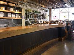 Bar countertops | Bar Tops - Wood Bar Counter Tops: Elmwood Reclaimed Timber.
