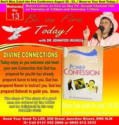 BE ON FIRE DAILY FOR JESUS  with Dr. Jennifer