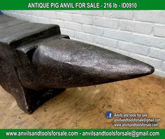 Ask for price with ID0910 on anvilsandtoolsforsale@gmail.com All pictures of all anvils on our website anvil for sale, anvils, blacksmith, blacksmiths, blacksmithing, antique tools, tool collector, swage block, stake, cone, cutler, french pig, amboss, incudine, schmied, forgeron, forge, enclume, forged, blacksmith tools, old tools, vintage tools, handtools, iron work, vise, stake, coutellier, chamouton, hulot harmel, collection, outil ancien, outils anciens, bigorne, art populaire, enclume