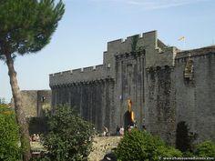 Chateau de Clisson : entrée principale