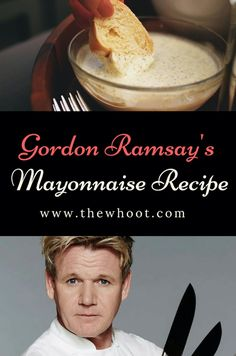 Learn how to make the legendary Gordon Ramsay Homemade Mayonaise Recipe. We've included a video tutorial that will teach you how to make it. Homemade Mayonaise, Mayonaise Recipe, Best Foods Mayonnaise Recipe, How To Make Mayonnaise, Sauces, Cooking Recipes, Healthy Recipes, Dressings, Lunches