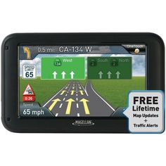 MAGELLAN RM5330SGLUC RoadMate(R) 5330T-LM 5 GPS Device with Free Lifetime Maps & Traffic Updates