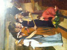 Degas neoclassico in Seramide che costruisce Babilonia