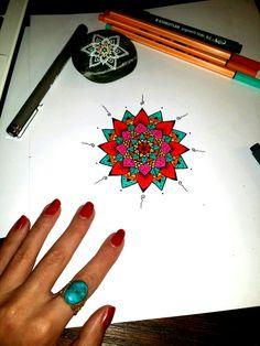 Mandala drawing ❂