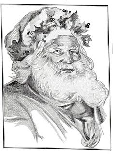 Digital Two for Tuesday: A Few Classic Christmas Images from Past Postings Noel Christmas, Father Christmas, Christmas Pictures, Christmas Colors, Xmas, Santa Pictures, Colouring Pages, Adult Coloring Pages, Coloring Book