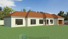 House Plans 3 Bedroom, Garage House Plans, Family House Plans, House Floor Plans, Tuscan House Plans, Modern House Plans, Small House Plans, Double Storey House Plans, One Storey House