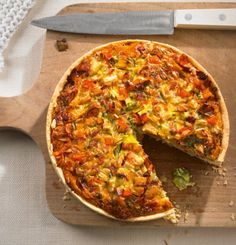 Gemüse-Quiche: Quiche schmeckt auch lauwarm oder kalt und kann toll mit einer Hand gegessen werden - ein wahrer Picknick-Star!
