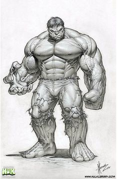 The Hulk by arguably the best Hulk artist, Dale Keown.