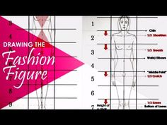 Basic Standing Figure Tutorial: Fashion Design Illustration for beginners - YouTube