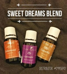 Having trouble sleeping? Made this Sweet Dreams Blend to help relax and unwind so I can get a good nights rest.  6 drops Lavender 6 drops Cedarwood  6 drops of Copaiba to magnify each oils properties and effects by cokes