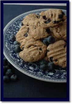 Blueberry Dog Cookie Recipe