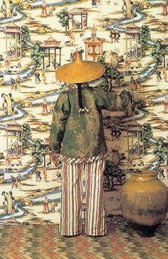 Scalamandre shanghai wallpaper