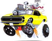 """1968 Camaro """"Bad Rodent"""" by Vince Crain"""